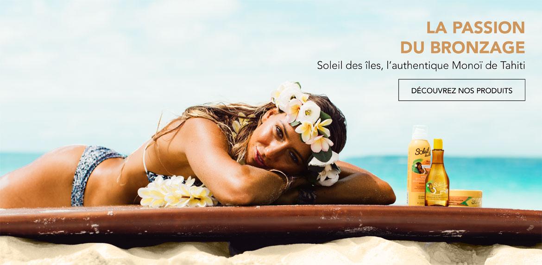 La passion du bronzage, N°1 de l'ultra bronzage - Soleil des îles