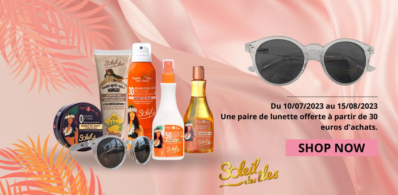 Sublimer votre bronzage grâce à nos produits bronzants - Soleil des îles