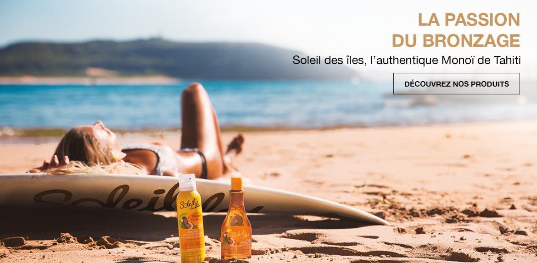 Soleil des îles, N°1 du bronzage et du monoï de Tahiti