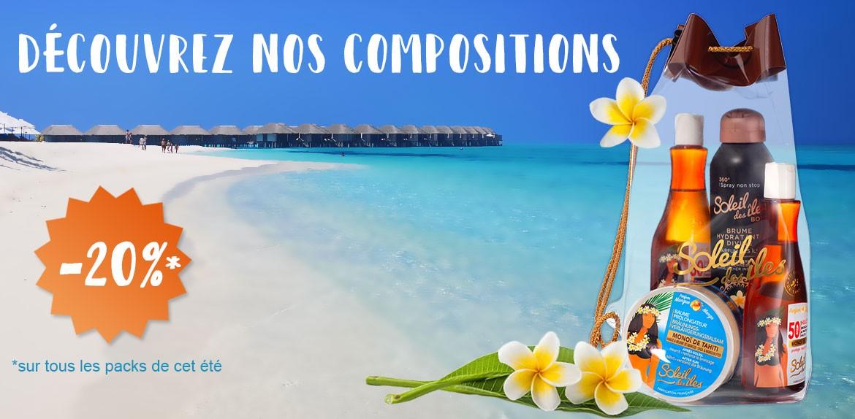 Découvrez les packs soleil des îles pour un rituel bronzage enivrant
