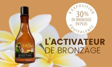 L'Activateur de Bronzage Soleil des îles, 30% de bronzage en plus