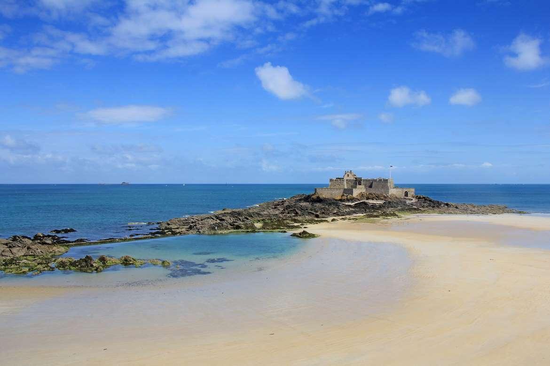 Plage de l'Eventail, Saint-Malo, Bretagne